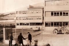 Colegio Público Comarcal, 1977. @Archivo de Salva G.