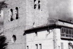 Iglesia Parroquial San Miguel, 1976. @Aoiz y sus personalidades ilustres
