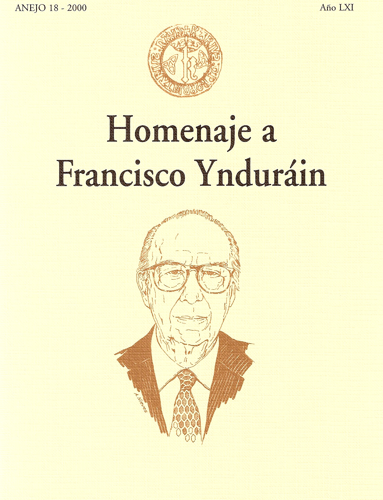 Libro homenaje a Francisco Ynduráin, 2000. @Archivo de Bilaketa