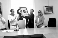 Aoiz, homenaje a Emilio Estévez, 2010. @Beatriz Estévez