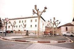 Plaza José Amichis, al fondo del Juzgado, 1998. @Archivo de Salva G.