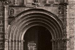Portada e Iglesia Parroquial, 1965. @Archivo Salva G.