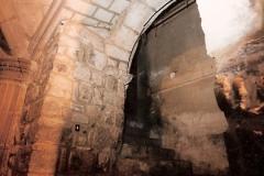 Puerta románica Iglesia San Miguel, 1998. @Archivo de Salva G.