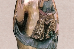 Iglesia San Miguel. Virgen de la Misericordia, 1990. @Archivo de Bilaketa