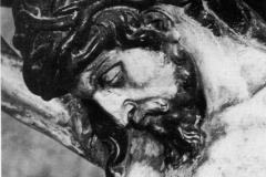 Cristo de Juan de Anchieta. Detalle, 1978 @Aoiz y sus personalidades ilustres